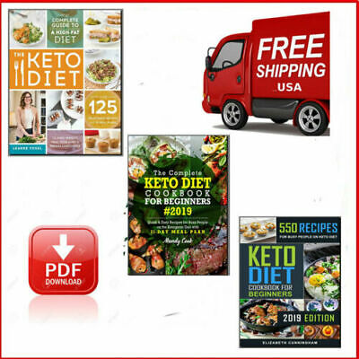 Total 3 The Complete Keto Diet Cookbook For Beginners 2019 PDF FAST Delivery