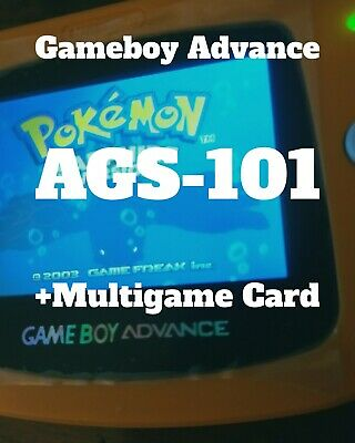 Console Game Boy Advance AGS-101 GBA+Multigame Card