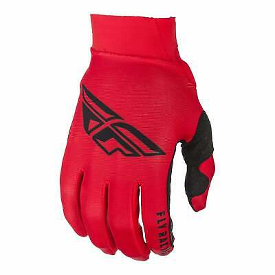 Fly Racing Pro Lite Mens Gloves Mx Glove - Red Black All Sizes