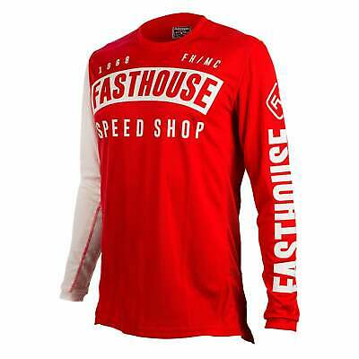 Fasthouse Block L1 Mens Jersey Moto - Red All Sizes