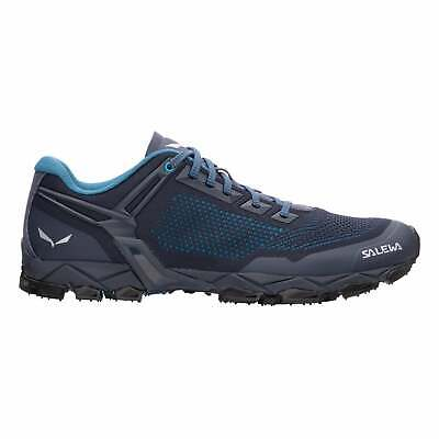 52a72a4c8 Salewa Lite Train K Mens Boots Walking Boot - Premium Navy Caneel Bay All  Sizes