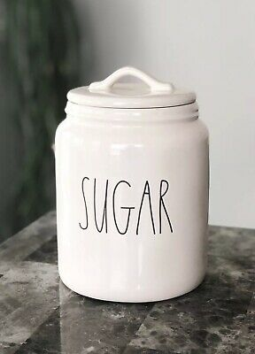 NEW Rae Dunn XL Large SUGAR Canister