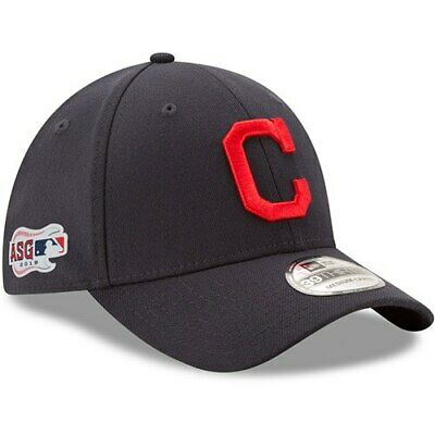 New Era Cleveland Indians Navy Road 2019 MLB All-Star Game Team Classic 39THIRTY
