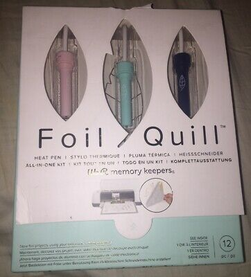 American Crafts We R Memory Keepers Foil Quill All-in-one Kit NEW