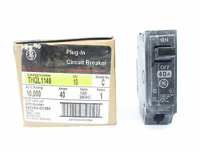 General Electric Thql1140 40A 240V (Pkg Of 10) Nsmp