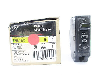 General Electric Thql1150 50A 240V (Pkg Of 10) Nsmp