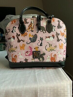 NWT - Disney Parks 2019 Cats Annual Passholder Satchel By Dooney & Bourke