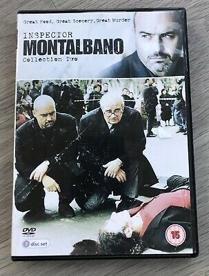 Inspector Montalbano: Collection Two (3 Disc) [DVD] - Pre Owned