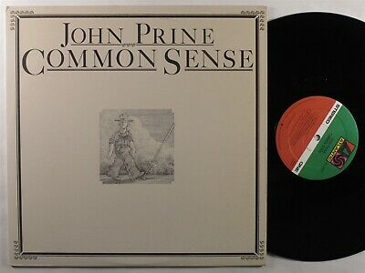 JOHN PRINE Common Sense ATLANTIC LP NM with lyric sheet insert