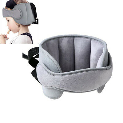 Baby Head Support Travel Car Seat Stroller Adjustable and Safety-Gray