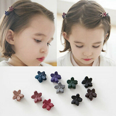 30Pcs/set Baby Girl Plastic Hair Claw Cartoon Cute Mini Kids Clips Clamp Fashion