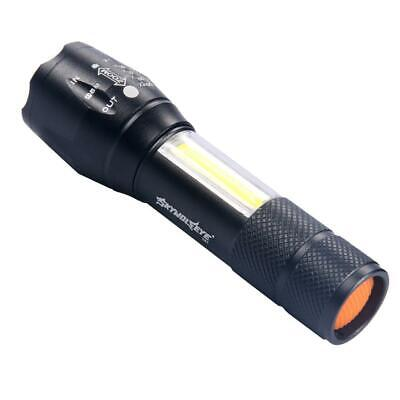 20000LM LED Flashlight Waterproof XPE COB Work Torch Light 4 Modes AA DA