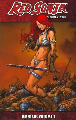 Red Sonja: She-Devil with a Sword Omnibus Volume 2 by Homs 9781606902318