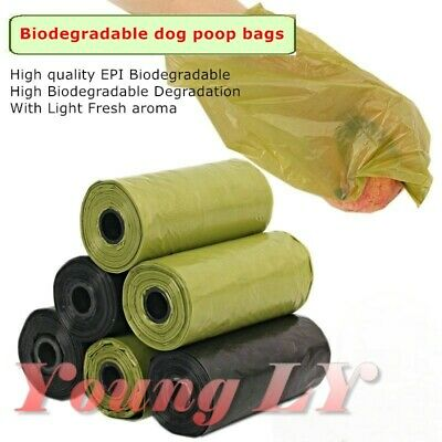 Strong High Quality EPI Biodegradable Dog Poop Poo Bags-FREE Delivery in 7 days