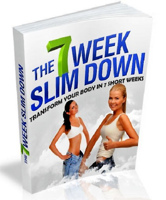The 7 Week Slim Down eBook PDF Master Resell Rights Free shipping