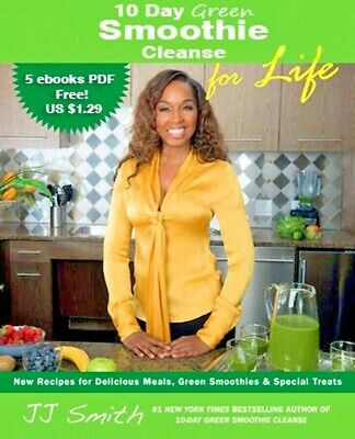 10-Day Green Smoothie Cleanse by J. J. Smith Resell Rights PDF Free Shipping