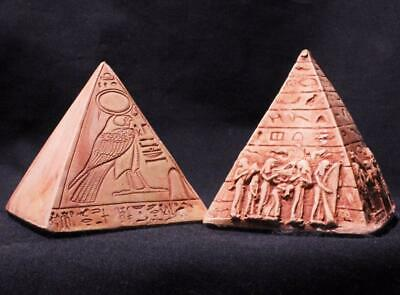 SACRED PYRAMIDS OF THE GODS - Egyptian Pyramid Twin Set