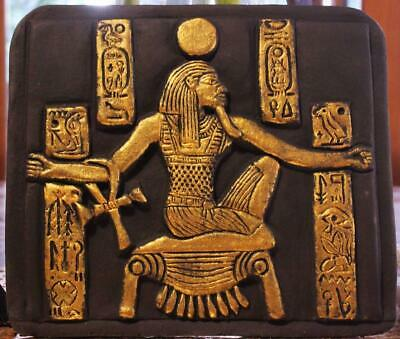"""HEH"" EGYPTIAN GOD OF INFINITY stone relief ancient replica"