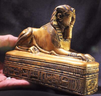 SACRED SPHINX Egyptian Stone Statue ancient replica