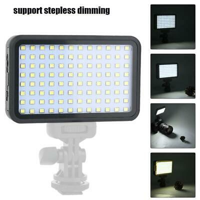 VBESTLIFE PAD160 1350Lm LED Dimmable Studio Video Light Lamp for Canon Nikon DH