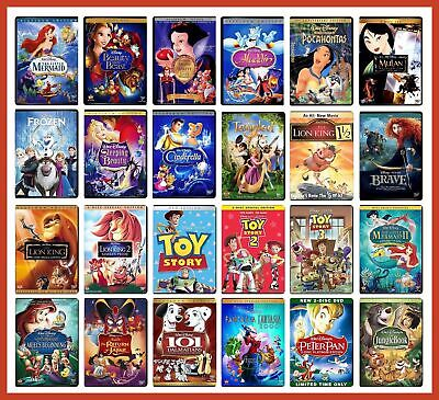 Disney Pixar DVD Movies Lot - Pick & Choose