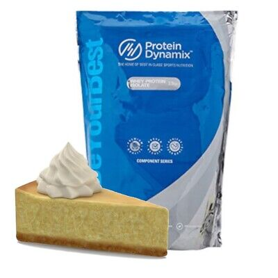 Whey Protein Isolate 90 - 2.5kg - New York Cheesecake - BBE: AUG/19