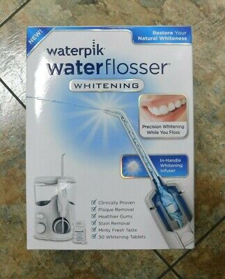Waterpik Water Flosser WHITENING W/In-Handle Whitening Infuser WF-06W010
