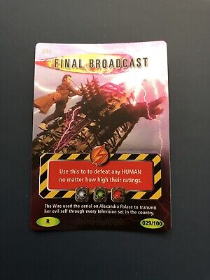 Doctor Who Battles In Time Annihilator Final Broadcast Rare 29/100