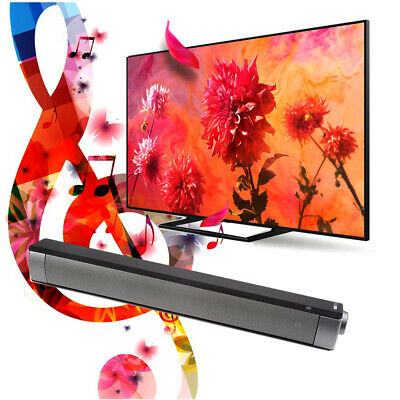TV Home Theater Soundbar Bluetooth Sound Bar Speaker Built-in Subwoofer Portable
