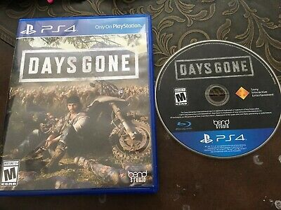 Days Gone PS4 Sony PlayStation 4