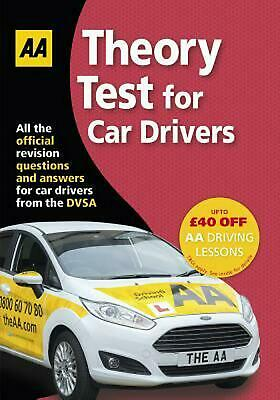 Theory Test for Car Drivers Paperback Book Free Shipping!
