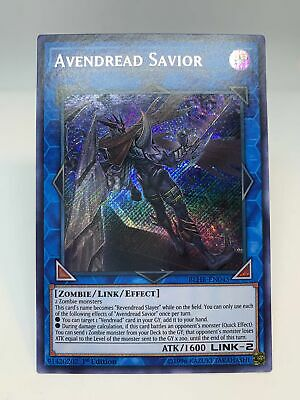 Yugioh! Avendread Savior / Secret - BLHR-EN045 - 1st