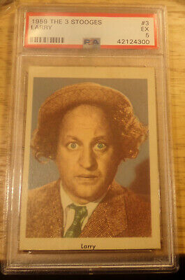1959 Fleer The Three 3 Stooges #3 Larry PSA 5.....Priced to Sell......Lot 3593