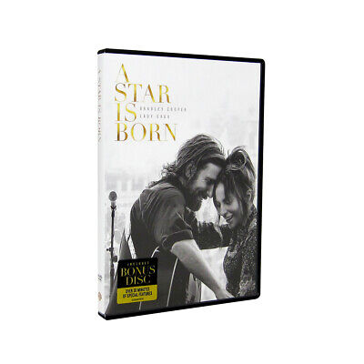 A Star Is Born (DVD, 2018,2-Disc set)Brand New + FREE Shipping