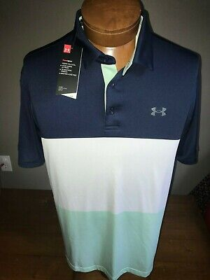 NWT Under Armour Men's Playoff Polo 2.0 Breathable Light Stretch Polo XL & LARGE