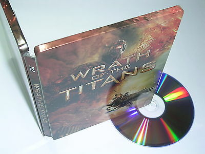 WRATH OF THE TITANS Limited Steelbook Edition [ USA ]