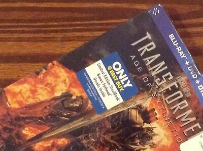 TRANSFORMERS Age of Extinction. Limited Steelbook Edition ( BestBuy!! )