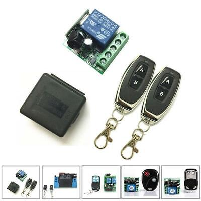 Wireless Garage Remote Control Switch Relay Receiver Transmitter Module AO