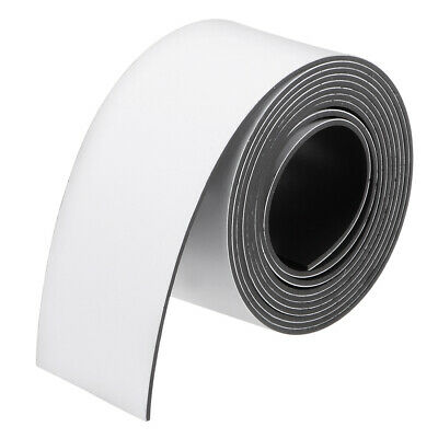 Dry Erase Flexible Magnetic Strip 1 Inch x 3.3 Feet Magnetical Tape Labels