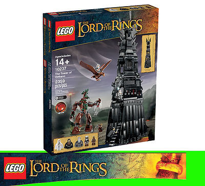 LEGO LORD OF THE RINGS 10237 Der Turm von Orthanc The Tower Teile 2359
