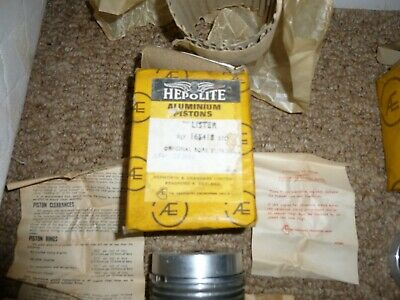 Lister Pistons Rings AD LD Air Cooled Diesel Industrial Stationary Farm Yard