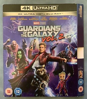 THE GUARDIANS OF THE GALAXY VOL 2 - 4K ULTRA HD Blu ray Slipcover SLIPCOVER ONLY