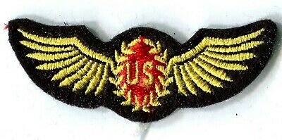 ARMEE USA US AIR FORCE aviation rouge écusson / patch 8 x 2.5 cm