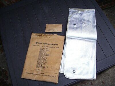Vintage 1933-38 Automobile Winter radiator grille cover nos original GM chevy
