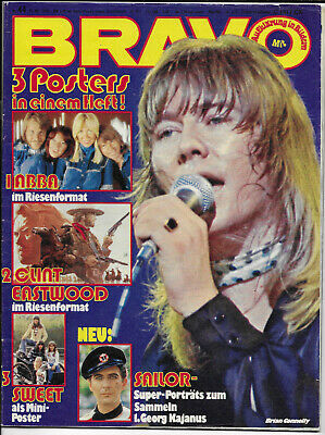 BRAVO Nr.44 vom 21.10.1976 Sweet, Abba, Bay City Rollers, Sailor, Beatles - TOP