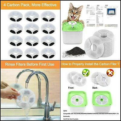 Catit Small Drinking Fountain Replacement Filters 108 pk 36x3pk