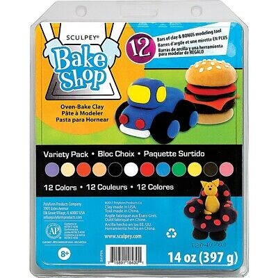 Sculpey Bake Shop Oven-Bake Clay Variety Pack