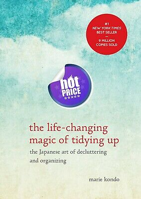 THE LIFE-CHANGING MAGIC of Tidying by Marie Kondo Paperback