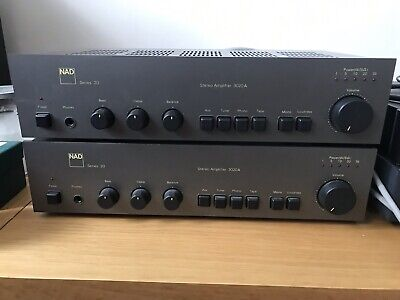 NAD 3020 Series 20 (Pair) Set Up As Pre And Power