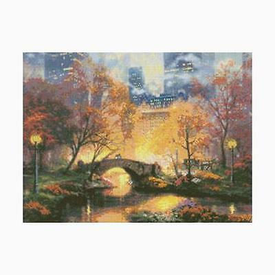 Candamar Designs  Kinkade X - kit Central Park in the Fall 51647